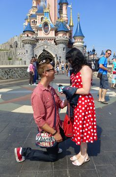 Engaged at Disney :)