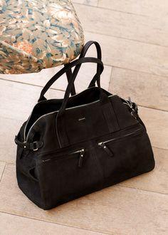 Sézane - Sac Oxford - women branded handbags, women's handbags and accessories, ladies handbags for sale Backpack Purse, Leather Backpack, Leather Bag, Crossbody Bag, Oxford Bags, Work Bags, Big Bags, Handbags On Sale, Mode Inspiration