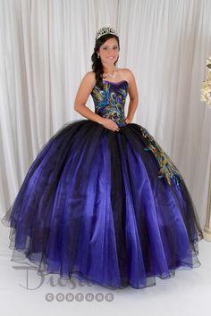 Quinceanera Peacock Dress #10147 - Joyful Events Store