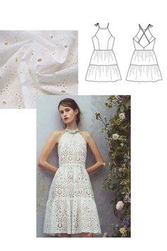 Inspirations pour coudre sa robe personnalisée #15 – AtelierCharlotteAuzou One Shoulder, Shoulder Dress, Inspiration, Dresses, Fashion, Gathered Skirt, Unique Dresses, Wedding Bride, Dress Ideas
