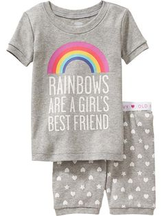 Rainbow PJ Sets for Baby Product Image