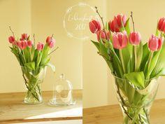 Cute Tulpen Dekoration Fr hlingsdekoration ste Strau Blumen Wandornamente Wei