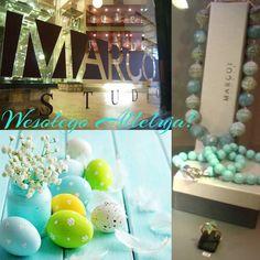 www.margot-studio.pl Biżuteria z turkusami - na święta... :)