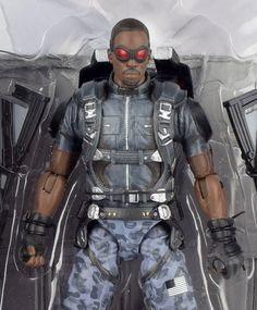 "Marvel Select Captain America Winter Soldier FALCON 7"" Action Figure 2014 #DiamondSelect"
