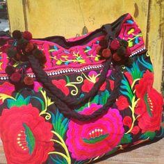 Maxi bolsa bordada Bohobag