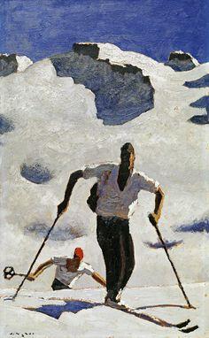 Alfons Walde art.. The Assent