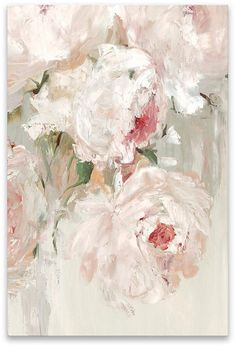 Ophelia & Co. 'Big Bouquet I' Acrylic Painting Print on Canvas Peony Painting, Painting Prints, Art Prints, Paintings, Acrylic Flowers, Abstract Flowers, Painting Inspiration, Flower Art, Cactus Flower