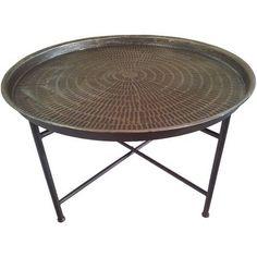 Elegant Fabelhafte Runde Eisen Couchtisch   Schreibtisch