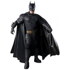 Defend Gotham City in this Dark Knight authentic Batman costume this Halloween. This realistic Batman costume is a collector's item and is perfect for Batman fans.