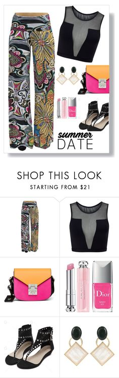 """""""Concert Date"""" by freida-adams ❤ liked on Polyvore featuring Varley, MCM, Christian Dior, Marni, polyvorecontest, polyvorefashion and summerdatenight"""