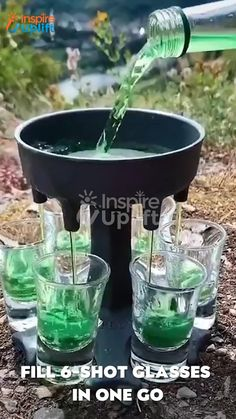 Glass Dispenser, Liquor Dispenser, Cool Gadgets To Buy, New Gadgets, Liquor Pourers, Café Chocolate, Drinking Games, Get The Party Started, Cards For Friends