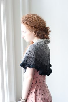 scarves, etc. 2014: drawing nigh by susan b. anderson / quince & co finch