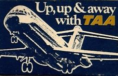 TAA Airlines Pacific Airlines, Australian Airlines, Domestic Airlines, Past Love, International Airlines, Aviation Art, Air Travel, Vintage Ads, Travel Posters