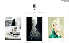 Browse our premium and free tumblr themes - Theme Cloud