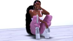 Sims 4 Teen, Sims 4 Toddler, Sims Cc, Cute Swag Outfits, Kids Outfits, Sims 4 Nails, Sims 4 Cc Eyes, Teen Girl Hairstyles, Sims 4 Black Hair