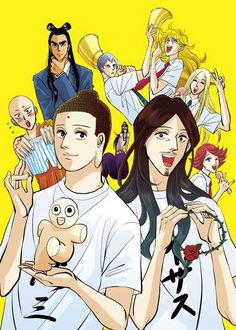 Saint Young Men Manga Gets Anime Movie Confirmed photo
