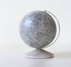 Vintage Moon Globe Bank, Replogle, via bellalulu on Etsy, 68.00