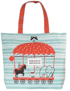 Adorable Parisian tote for kids not taking backpacks to school