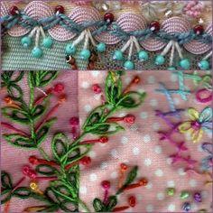 Crazy Quilt Stitches Для вдохновения. Обсуждение на LiveInternet - Российский Сервис Онлайн-Дневников