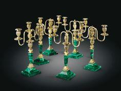 ensemble de six chandeliers &ag ||| lighting ||| sotheby's pf1311lot75s47en