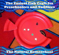 The Natural Homeschool: Easiest Fish Craft for Preschoolers and Toddlers