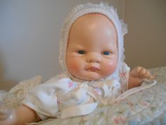 """Vintage 17"""" VOGUE """"BABY DEAR"""" By: ELLOISE WILKIN  #DollswithClothingAccessories"""