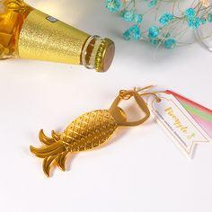 50pcs Gold Pineapple Bottle Opener Wedding Favor And Gift Wedding Decoration - Wedding Look