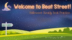 Halloween Steady Beat Kindergarten Music, Teaching Music, Music Activities, Music Games, Autumn Activities, Halloween Music, Halloween Treats, Music Classroom, Classroom Resources
