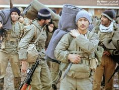 My hero Iranian militant  Karbala4 operation The Halabcha area ,14 February 1988 photo by: Muhammad Ali Suleimani  The Imam Hussein army, the Kalar river, the Halabcha area, Medics at work during Campaign of Walfajr 10.  My Hero - on ohms http://fb.com/IrHeroes