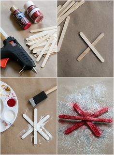 DIY Snowflakes | The Crafted Life
