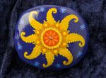 Morgeland-Art - Bemalte Steine, Wandbehänge, Künstlerpapier, Workshops