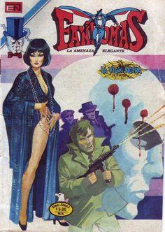 """Fantomas: La Viuda Negra """"Madame Ling""""."""