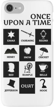 OUAT once upon a time iPhone 7 Cases I need this for an s5!!
