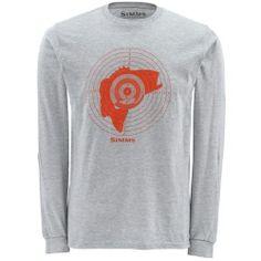 Simms Bass Hunter Long Sleeve Tee Shirt - Fishwest