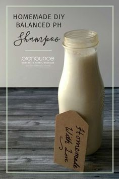 Moisturizing DIY PH Balanced Shampoo • pronounceskincare.com