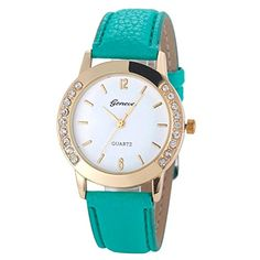 087a9977fbc online shopping for Beautyvan Beautiful Geneva Fashion Women Diamond Analog  Leather Quartz Wrist Watches (F) from top store. See new offer for  Beautyvan ...