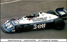 Ronnie Peterson, Tyrrell Ford - Brazil 1977
