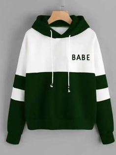 To find out about the Color Block Drawstring Hoodie at SHEIN, part of our latest Sweatshirts ready to shop online today! Cheap Hoodies, Cool Hoodies, Babe, Fandom Outfits, Sweaters And Jeans, Young Models, Funny Tees, Cute Shirts, Mens Sweatshirts