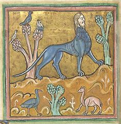 Medieval Bestiary : Manticore Gallery