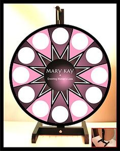 "Prize Wheel 18"" Spinning Tabletop Portable Mary Kay NEW @Elizabeth Lockhart Lockhart Lockhart Casteel"