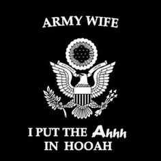 hooah army - #ACUPTW | Support Our Troops | Pinterest | Decals and ...