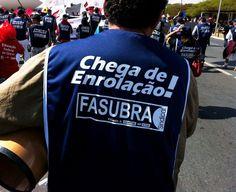 Há alguns dias, a categoria foi às ruas em Brasília para cobrar do governo federal uma postura mais firme em defesa do funcionalismo público!