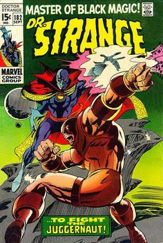 Cover for Doctor Strange (Marvel, 1968 series) #182
