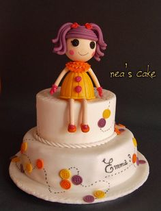 Lalaloopsy cake..... for my little daughter !