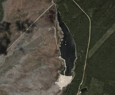 Most polluted lake in the world, used as a radioactive dumping ground for years