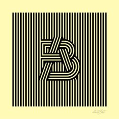 Stripes #monogram by André Beato