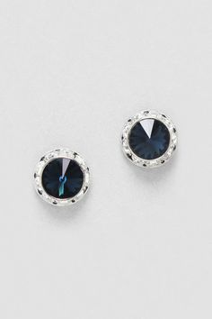 Sapphire Crystal studs