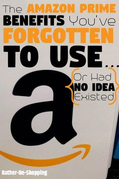 or Forgotten to Use...