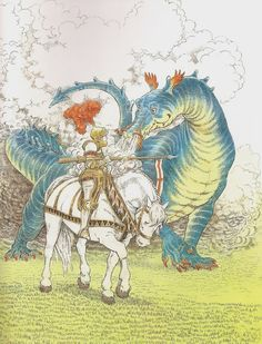 The Reluctant Dragon, by Kenneth Grahame illustrated by Inga Moore