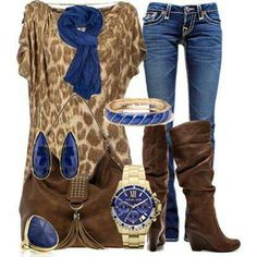 32 ideas for brown cowboy boats outfit winter color combos Winter Outfits, Casual Outfits, Cute Outfits, Fashion Outfits, Womens Fashion, Fashion Trends, Winter Clothes, Casual Wear, Picture Outfits
